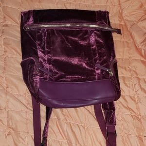 Velvet backpack